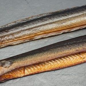 Chiemsee-Aal geräuchert