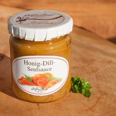 Honig-Dill-Senfsauce