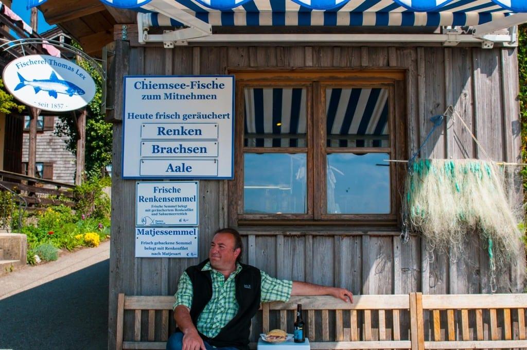 Fischverkauf Lex auf der Fraueninsel