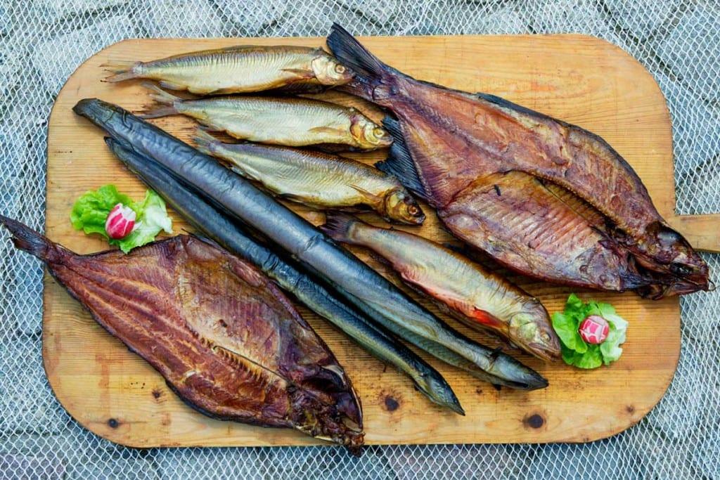Brachse - Aal - Saibling - Renke - Räucherspezialitäten vom Pollfischer