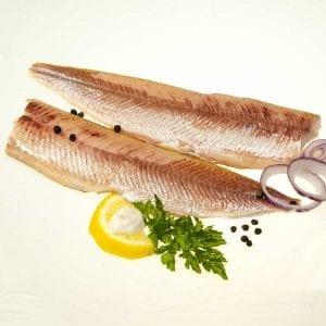 Chiemsee-Renke geräuchert, Filet ohne Haut